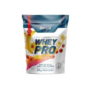 WHEY PRO 900gr/30serv Banana-Wild Strawberry