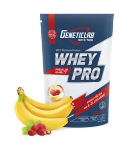 WHEY PRO Banana-Wild Strawberry 1000g - Банан-Земляника 1000г